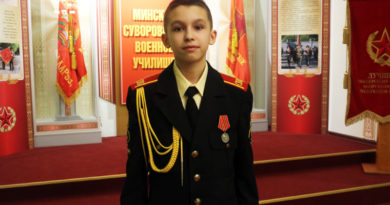 Суворовец Михаил Шестак
