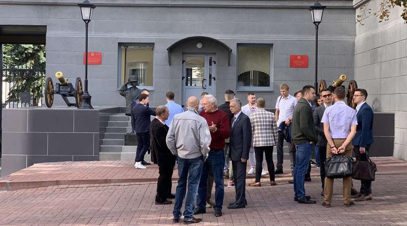 Встреча выпускников Минского СВУ
