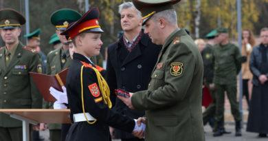 Ахремов Игорь у гродненских кадет
