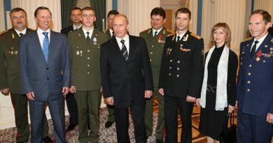 Герой Российской Федерации полковник Владимир Белявский