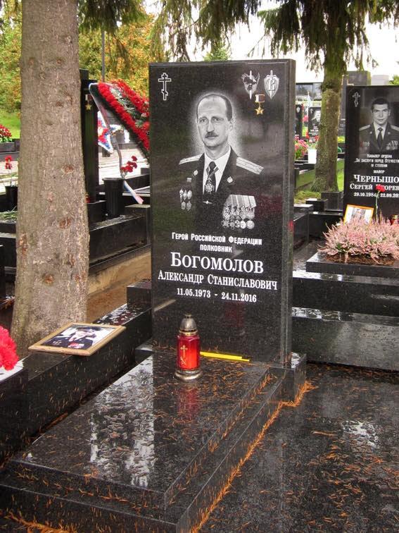 Памятник Александру Богомолову