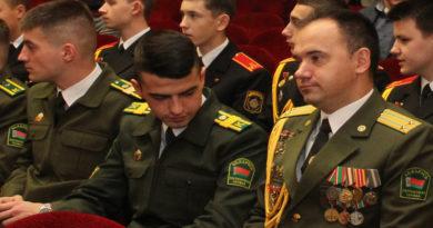 старший сержант Дмитрий Александрович Быкович