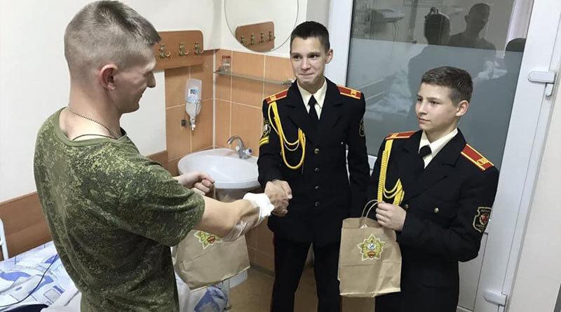старший лейтенант Алексей Харламов