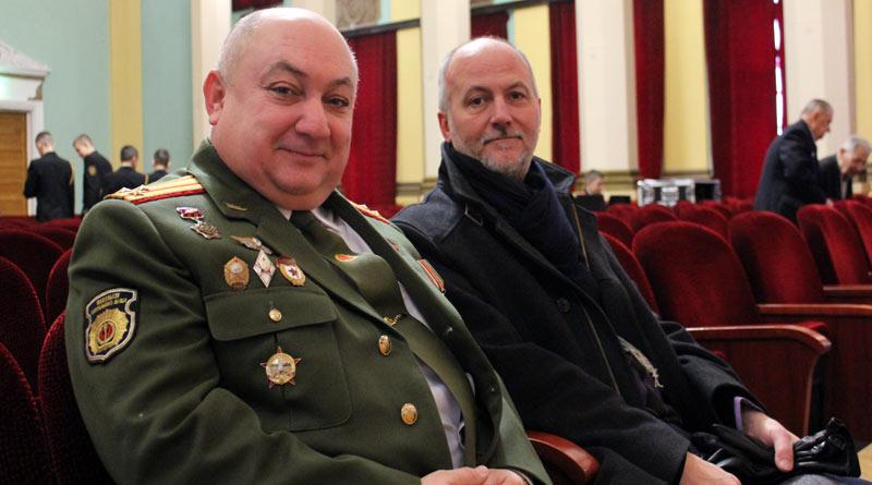 Полковник Олег Ивчик и Борис Тимофеев