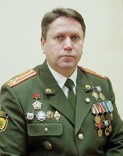 Полковник Вячеслав ШУМИЛОВ