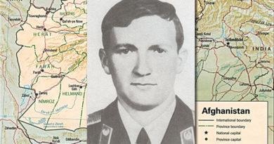Старший лейтенант В. Л. Суденков