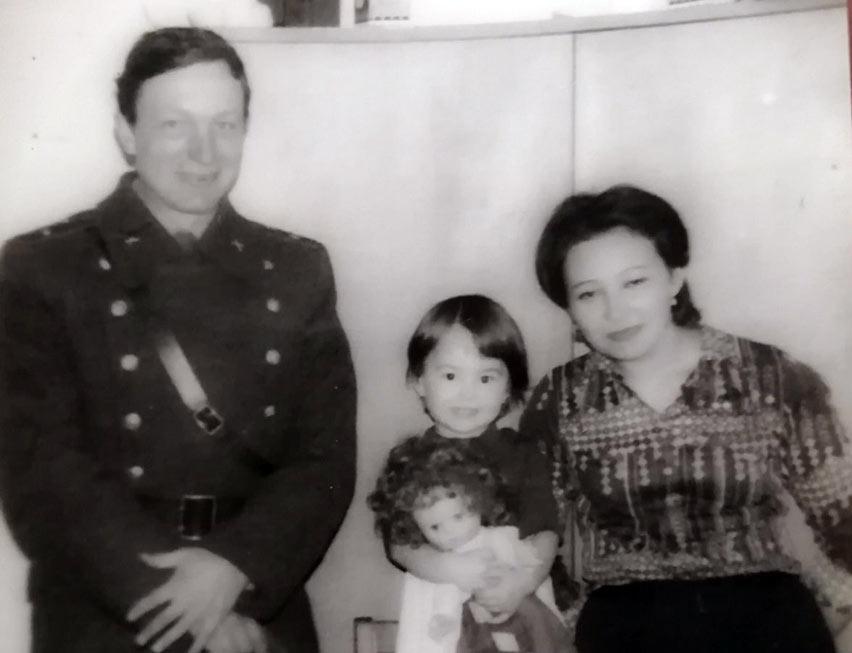 Капитан Анатолий Николаевич Вихров