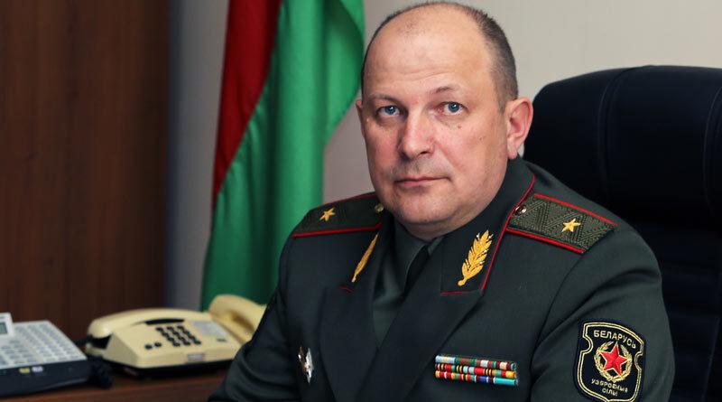 Заместитель министра обороны генерал Андрей Владимирович Жук