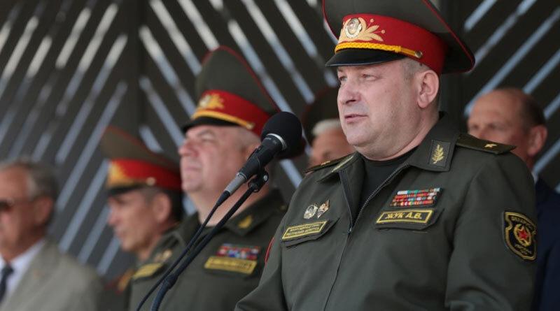 Генерал Андрей Жук на выпуске в СВУ